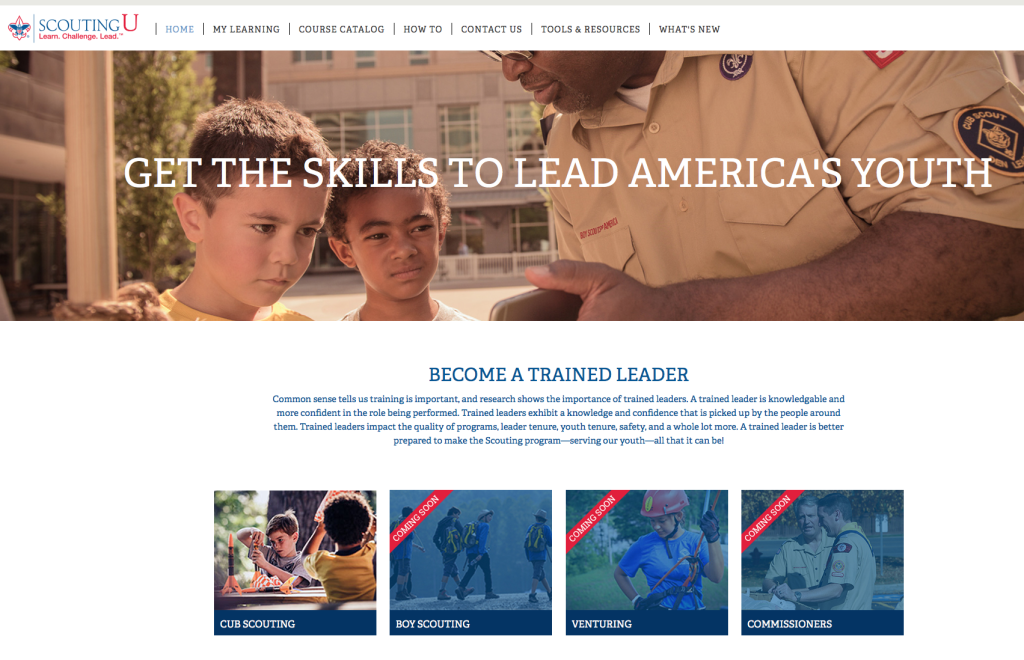 How to Series: New Cub Scout leader training available at my
